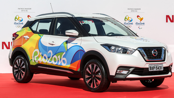 Nissan and National Lottery strike gold at the Rio Olympics – SMG